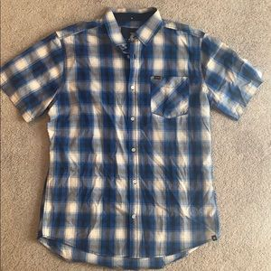 Hurley men's button up shirt